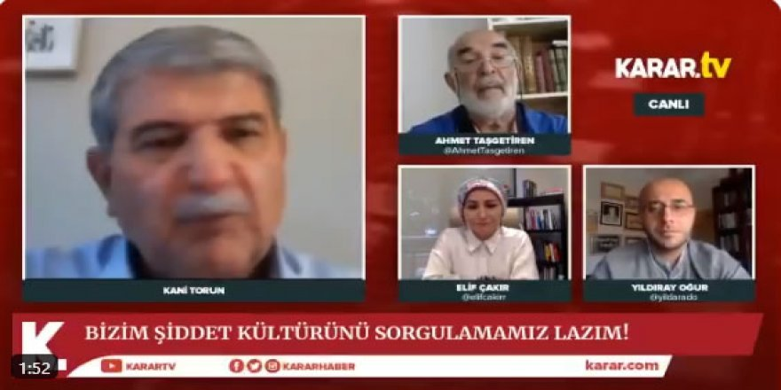 Ahmet Taşgetiren: Kani Torun'un beyanları maksadını aştı