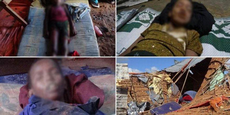 ABD Somali'de Eş Şebab bahanesiyle çocukları katletti