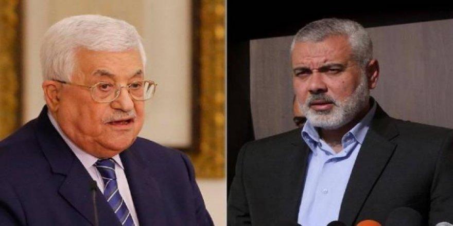 Abbas ile Heniyye Filistin uzlaşısını görüştü