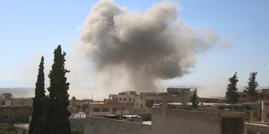 Rus uçaklarından İdlib'e hava saldırıları: 3 can kaybı