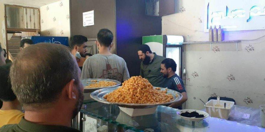 HTŞ lideri Cevlani İdlib'de halkla birlikte