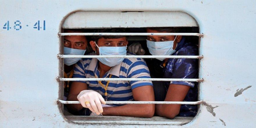 Hindistan'da 803 kişi daha koronavirüsten öldü