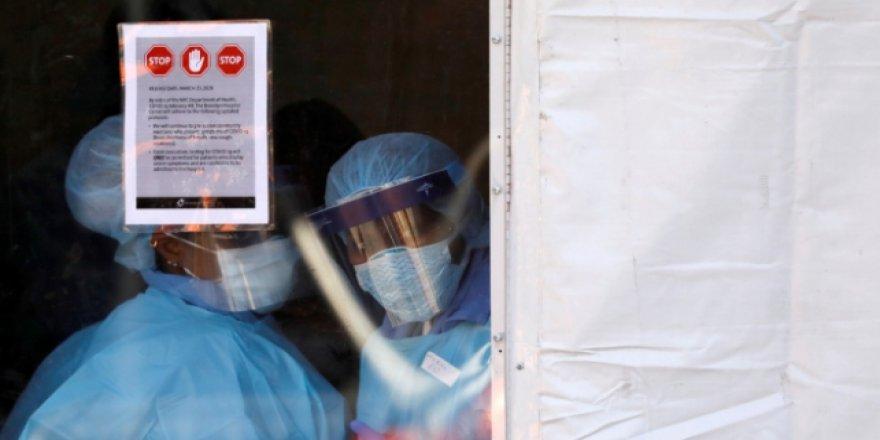 ABD'de 1 günde 1516 kişi koronavirüsten öldü