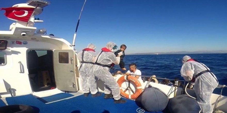 Sahil Güvenlik ekipleri 41 sığınmacıyı kurtardı