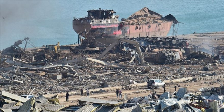 Beyrut Limanı Müdürü Kuraytim ve Gümrükler Müdürü Zahir gözaltına alındı