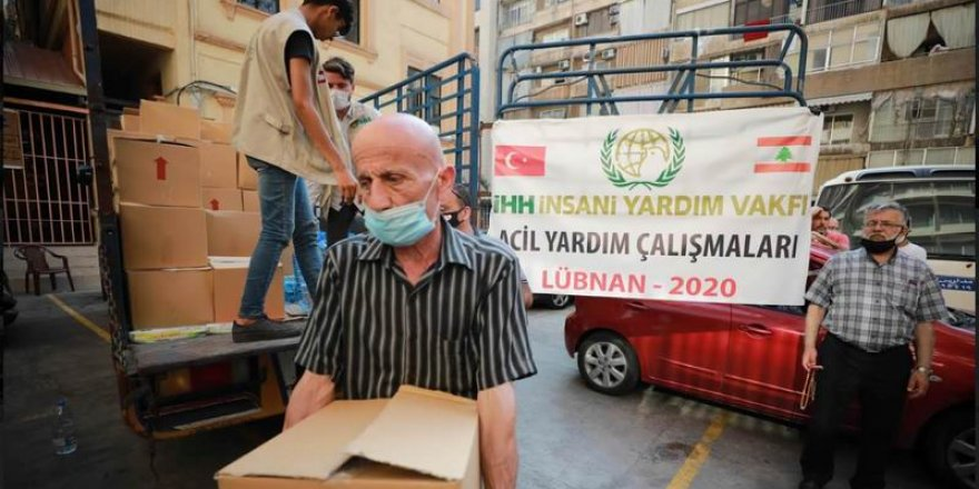 İHH Lübnan'da 3 bin 700 kişiye acil yardım ulaştırdı
