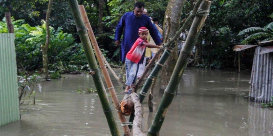 Bangladeş'teki sellerde ölü sayısı 184'e yükseldi