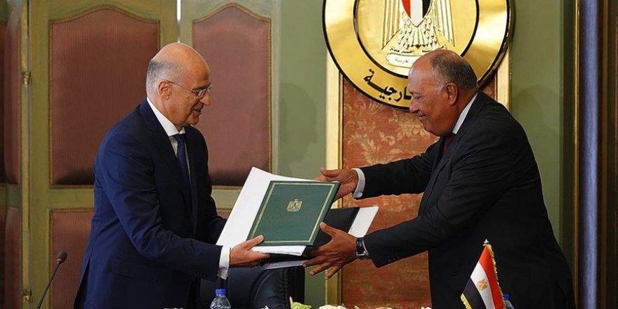 Yunanistan Mısır anlaşmasıyla Akdeniz'de haksızlığını tescil etti