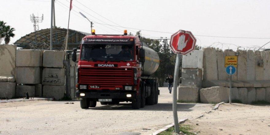 Siyonistler Gazze'nin tek ticaret kapısını kapatıyor