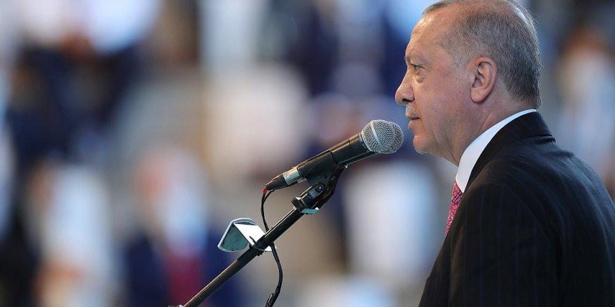 Cumhurbaşkanı Erdoğan, AK Parti'nin 19. yıl kuruluş yıldönümü ...