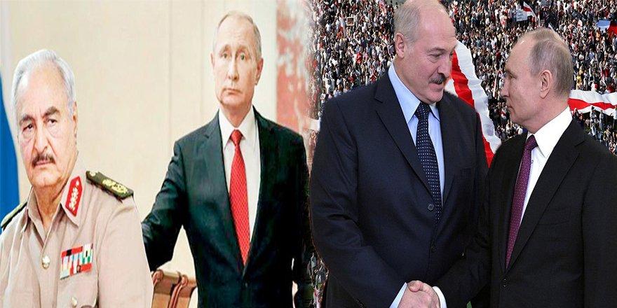 Libya'ya Abanırken Belarus'ta Tokatlanan Rusya