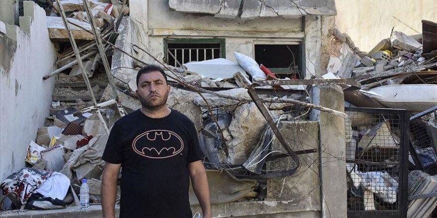 Lübnan'a sığınan Suriyeli mülteci Beyrut Limanı patlamasında ailesini kaybetti