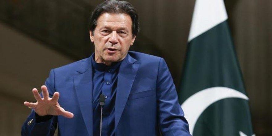 Pakistan Başbakanı Han: Filistinliler haklarına kavuşmadan İsrail'i tanıyamayız