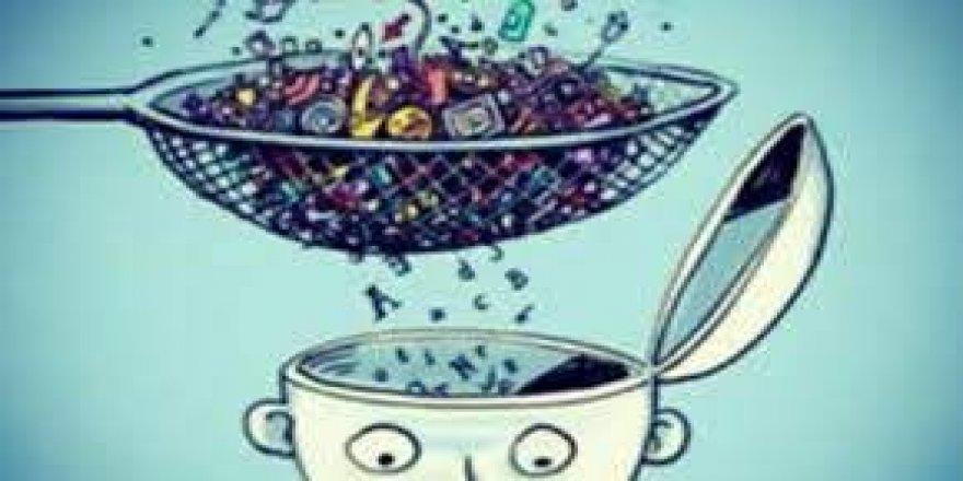 Mideyi sağlıksız 'atıştırmalıklar'la, zihni kirli bilgilerle bozmak