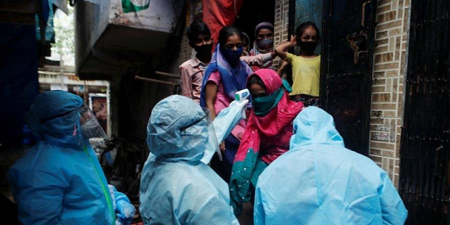 Hindistan'da 496 kişi daha koronavirüsten öldü