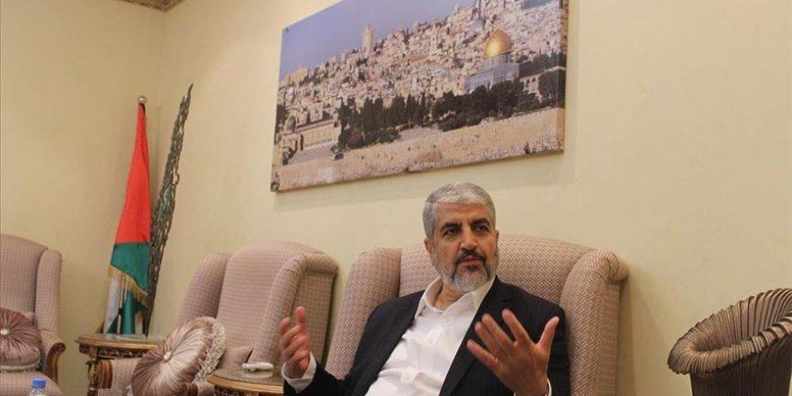 Halid Meşal: İsrail normalleşme bahanesiyle Arap ülkelerini kendi çıkarı için kullanmak istiyor