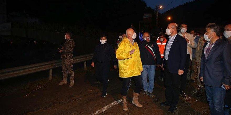 Giresun'daki selde kaybolan 3 kişinin cansız bedenine ulaşıldı