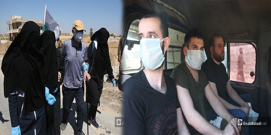 Esed rejimi ile HTŞ arasındaki esir takasından 2 kare