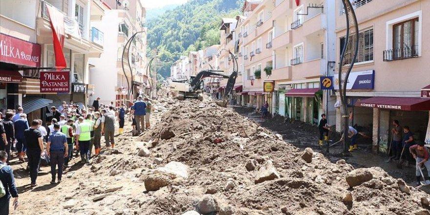 Bakan Soylu: Giresun'daki selde can kaybımız 8 oldu