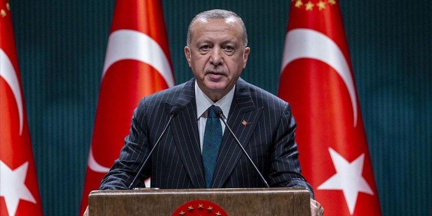 Erdoğan: Türkiye Oruç Reis ve donanma faaliyetlerinden geri adım atmayacak