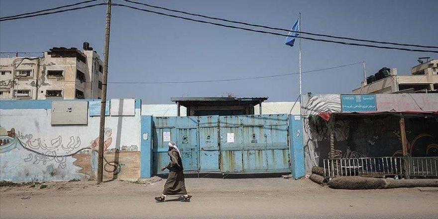 UNRWA Gazze'deki hizmetlerine geçici olarak ara verdi