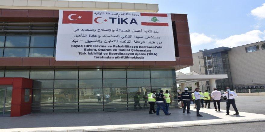 Lübnan'daki Türk Hastanesi'ni açma çalışmaları TİKA tarafından başlatıldı