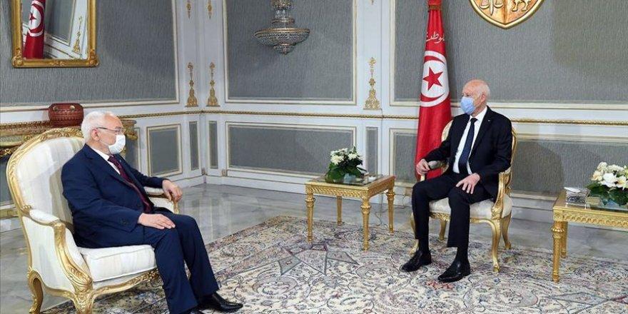 Tunus Cumhurbaşkanı Said ile Gannuşi, kurulacak yeni hükümeti görüştüler