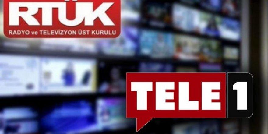 RTÜK'ten Tele 1'e ceza