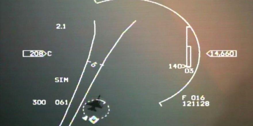 Yunan F-16'ları Navtex ilan edilen bölgeye tacizde bulundu