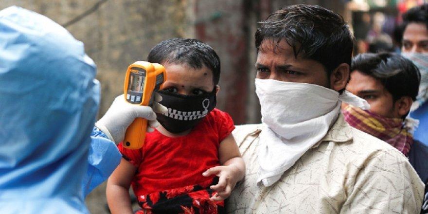 Hindistan'da 948 kişi daha koronavirüsten öldü