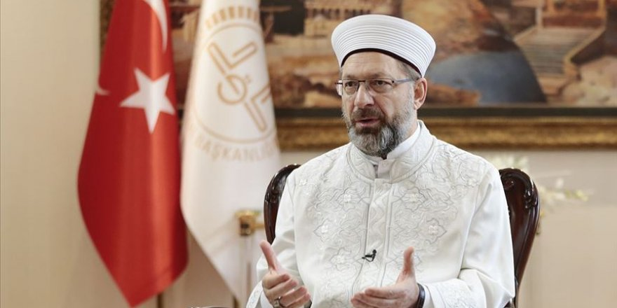 Diyanet İşleri Başkanı Erbaş'tan Norveç'te Kur'an-ı Kerim'in yakılmasına tepki