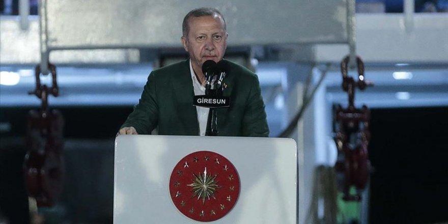 Cumhurbaşkanı Erdoğan: Akdeniz ve Ege'de korsanlığa asla 'eyvallah' etmeyiz