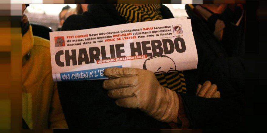 Charlie Hebdo'dan Müslümanlara ağır tahrik
