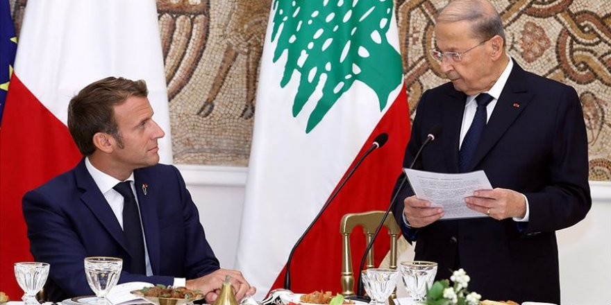 Macron, Beyrut ziyaretini vaat ve tehditlerle sonlandırdı