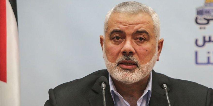 Hamas lideri Heniyye'den 'birlik' çağrısı