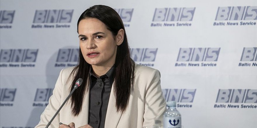 Belaruslu muhalif lider Tikhanovskaya'dan BM'ye uluslararası gözlemci misyonu çağrısı