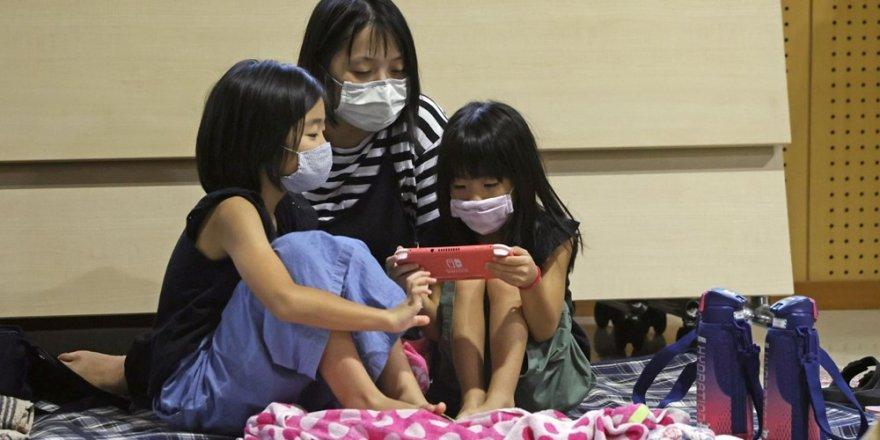 Japonya'da Haişen tayfunu nedeniyle 8 milyonu aşkın kişinin tahliyesi istendi