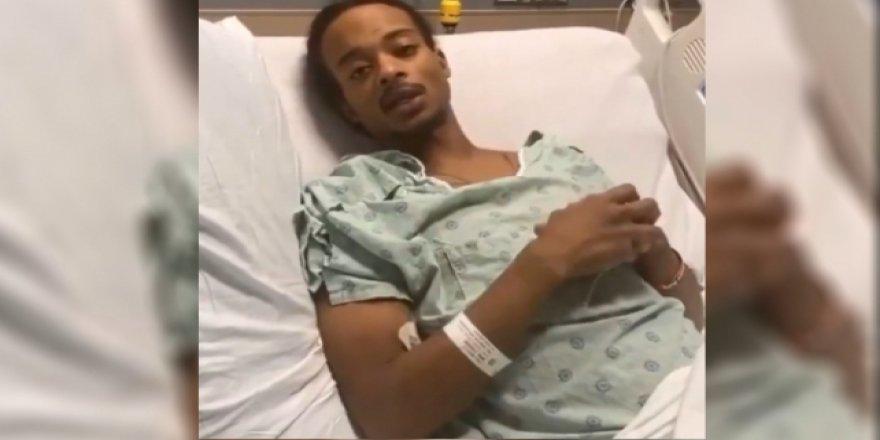 ABD'de polis kurşunuyla vurulan Blake'ten destek verenlere video