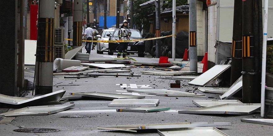 Japonya'yı vuran Haişen tayfununda 2 ölü, 100'den fazla yaralı