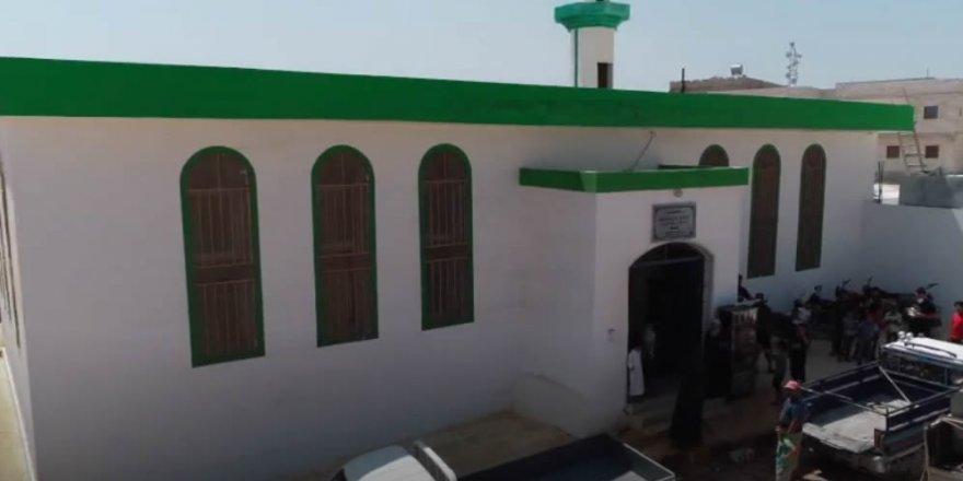 Hacı Hasan İnal Mescidi İdlib'te ibadete açıldı