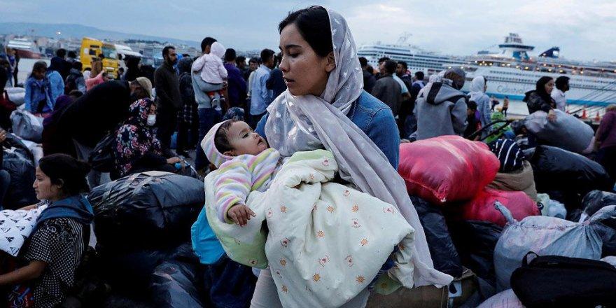 Yunanistan'daki mülteci kampında korona alarmı
