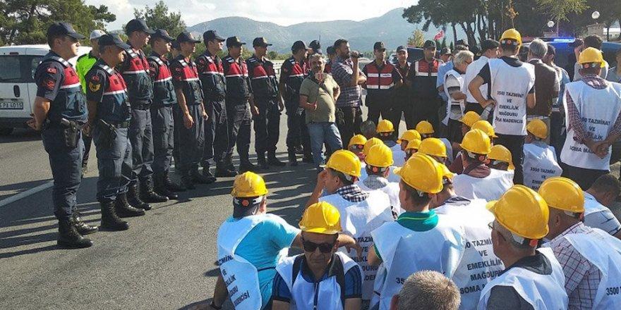 AYM maden işçilerinin yürüyüşünü engelleyen düzenlemeyi iptal etti