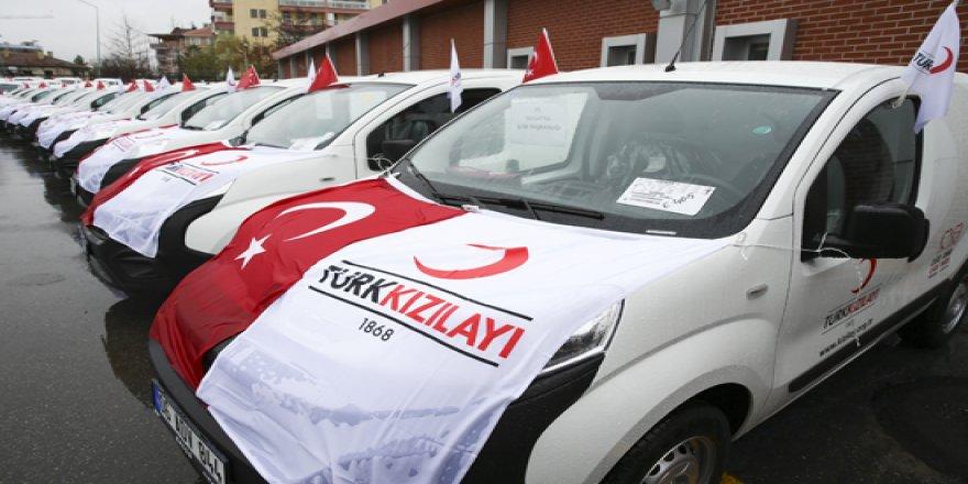 Suriye'nin kuzeyinde Kızılay aracına saldırı