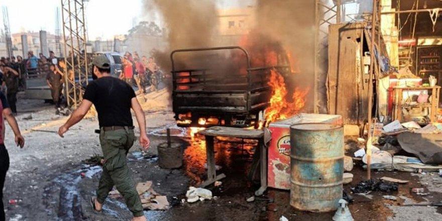Afrin'de bombalı saldırı: 3 ölü