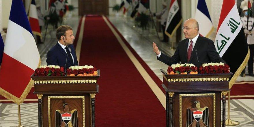 Macron Türkiye karşıtlığını Irak siyasetine taşımaya çalışıyor
