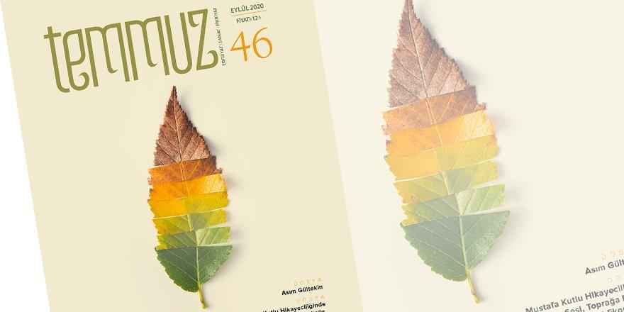 Temmuz dergisinin Eylül 2020 sayısı çıktı