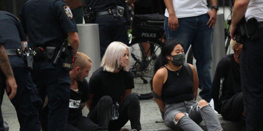 ABD'de göçmenlik politikaları karşıtı protestoda 50'den fazla gözaltı