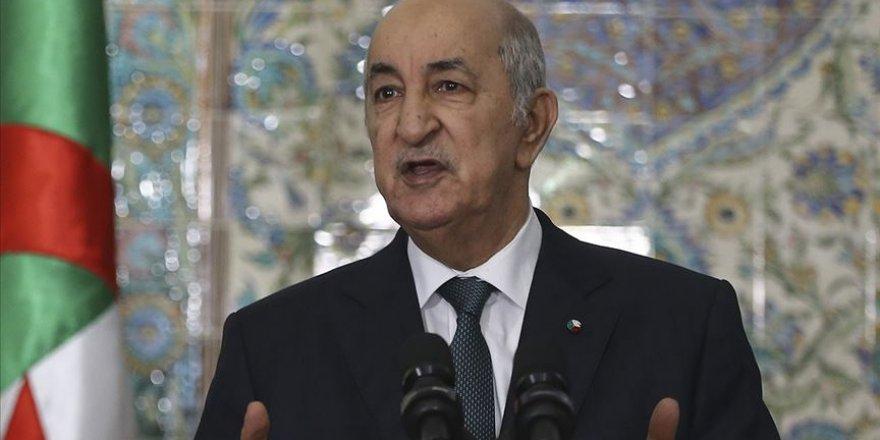 Cezayir Cumhurbaşkanı Tebbun, Siyonist İsrail'le normalleşme adımına katılmayacaklarını yineledi