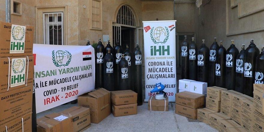 İHH'dan Irak'ın koronavirüs ile mücadelesine destek
