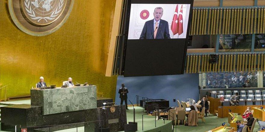 Cumhurbaşkanı Erdoğan BMGK'da Siyonist İsrail'i eleştirdi, Siyonist Büyükelçi salonu terk etti!